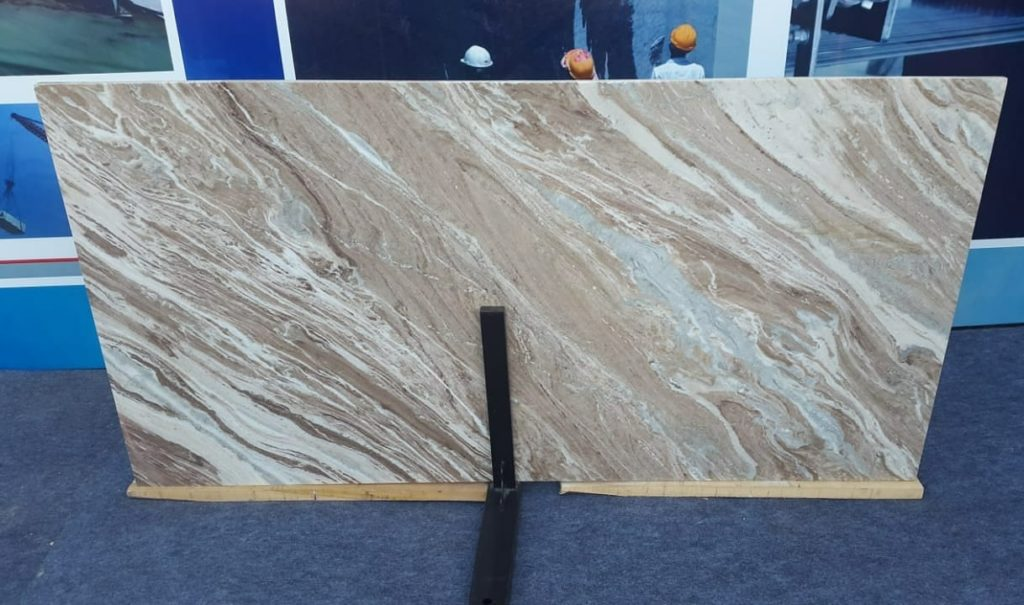 Indian Fantasy Brown Marble Slabs Premium Marble Slabs for Decoration