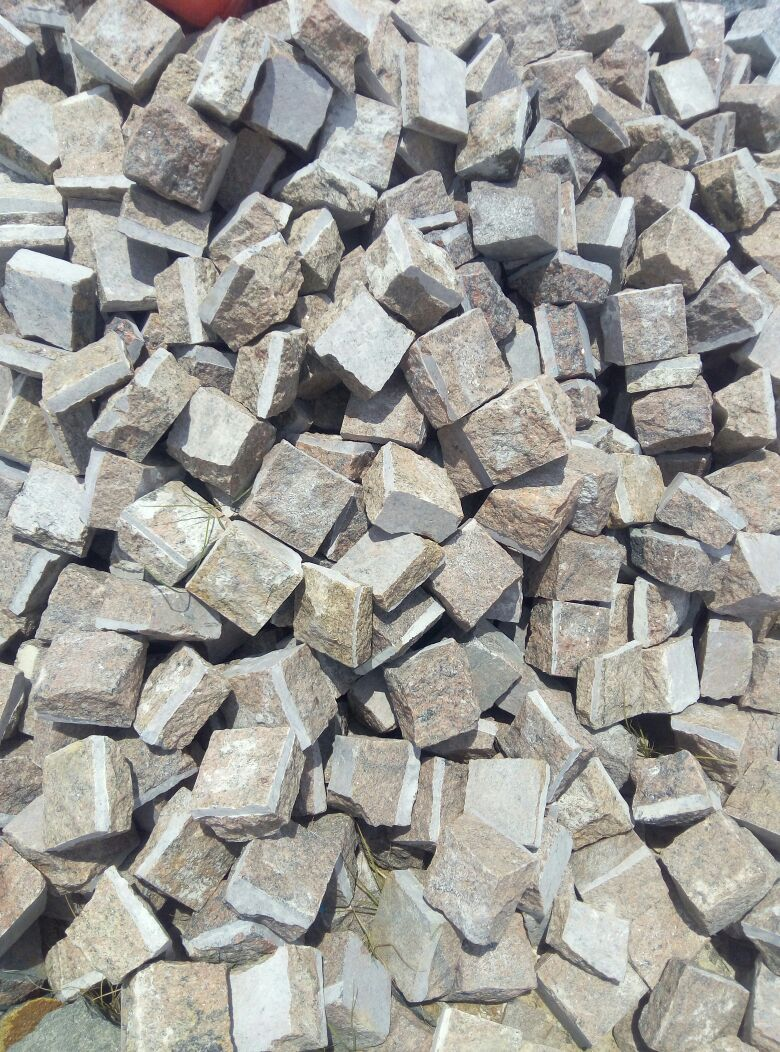 Indian Granite Cube Stone for Paving