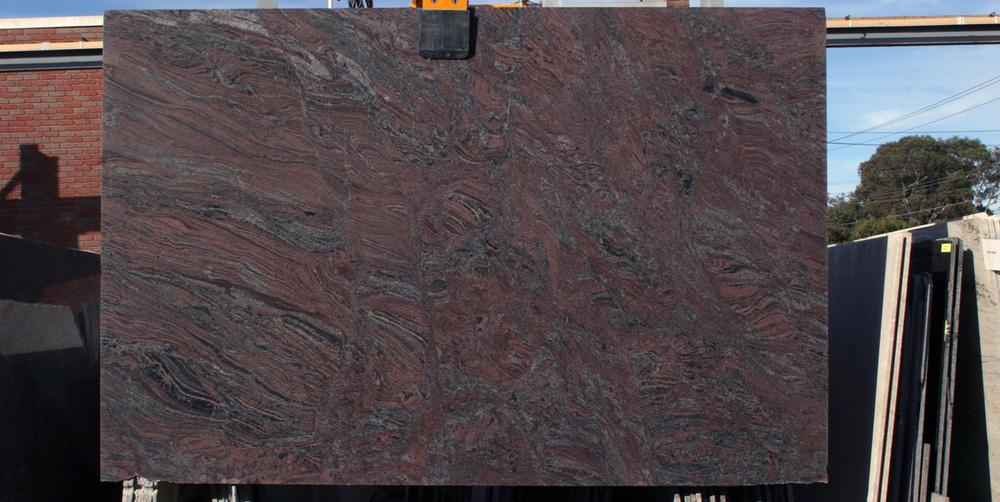 Indian Granite Slab Paradiso Brown Granite Stone Slabs