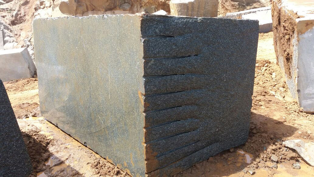 Indian Impala Black Granite Blocks
