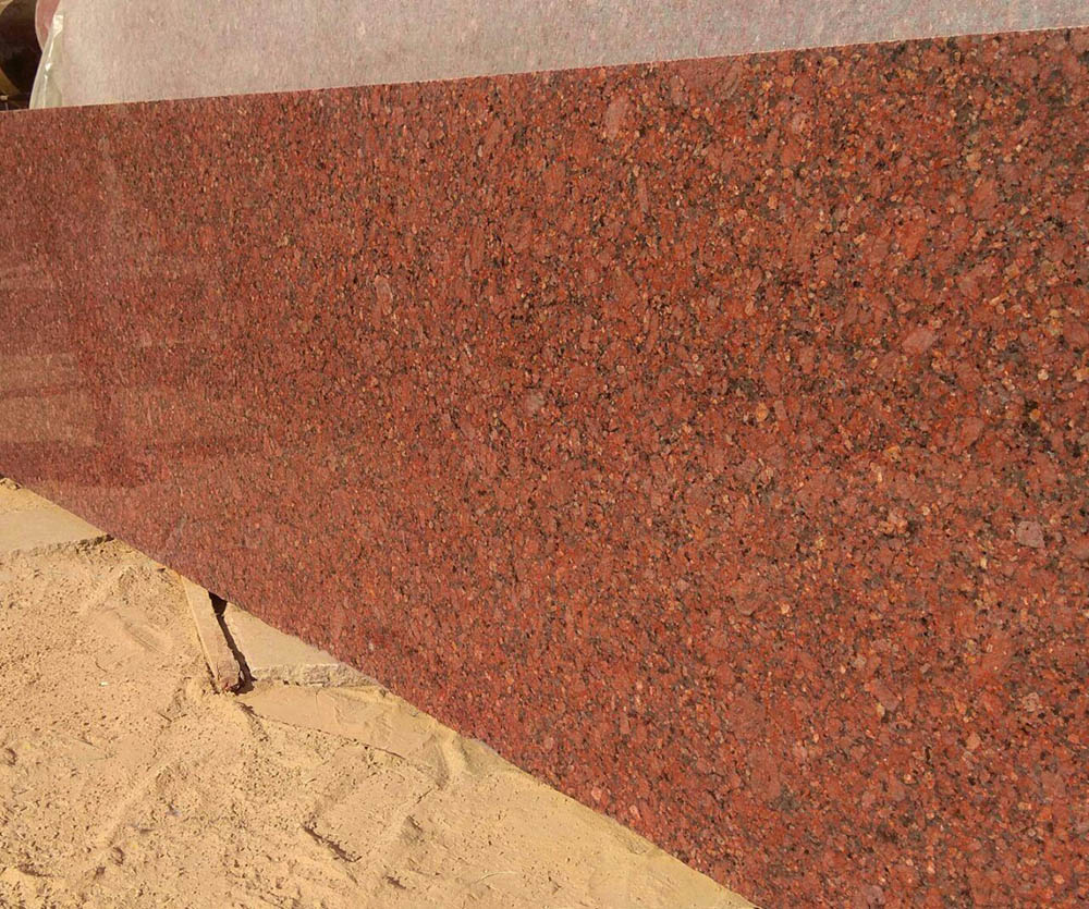 Indian Imperial Red Slabs Polished Red Granite Slabs