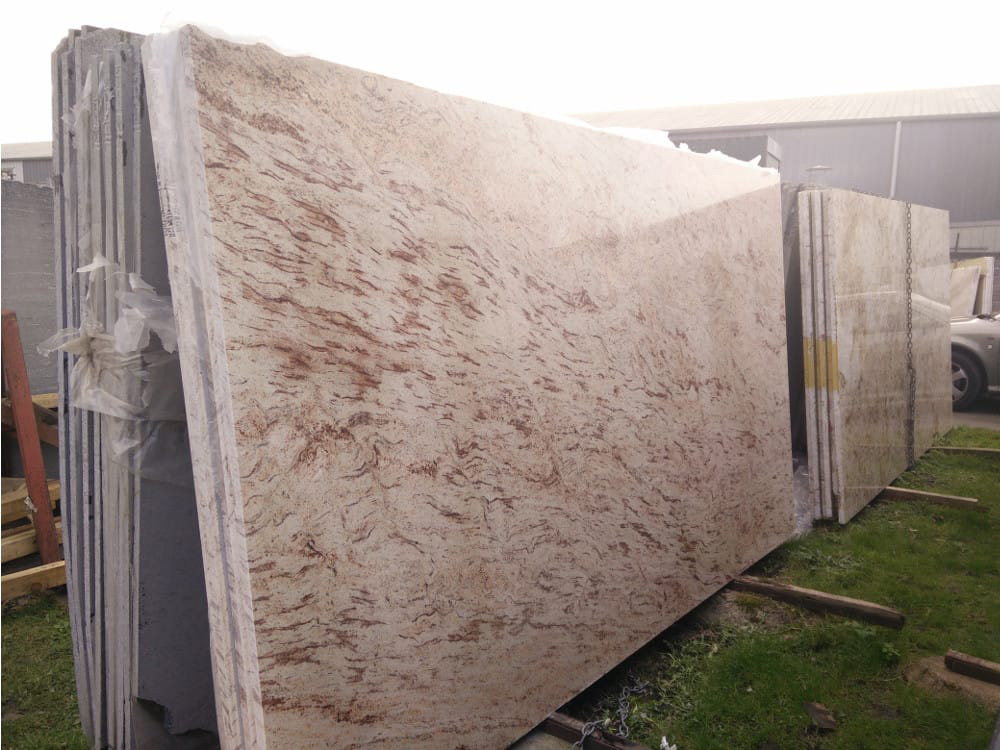 Indian Ivory Pink Granite Slabs
