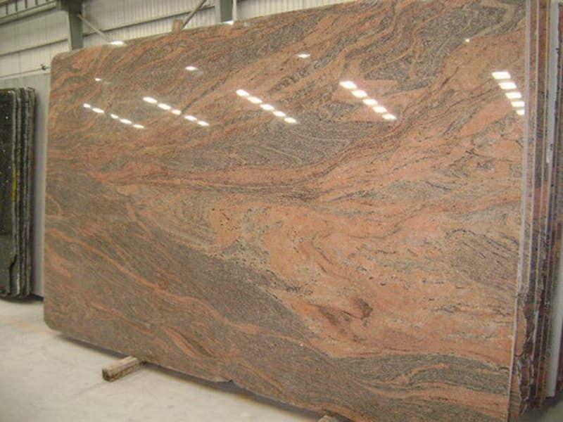 Indian Juparana Granite Slabs Polished Pink Granite Stone Slabs