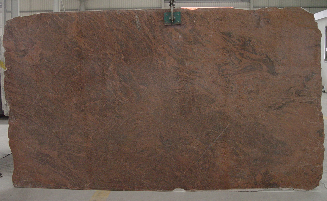 Indian Multi Color Red Granite Slab