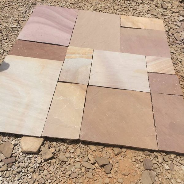 Indian Multi Color Sandstone for Paving