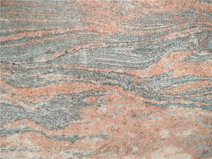 Indian Multicolor Red Granite Color