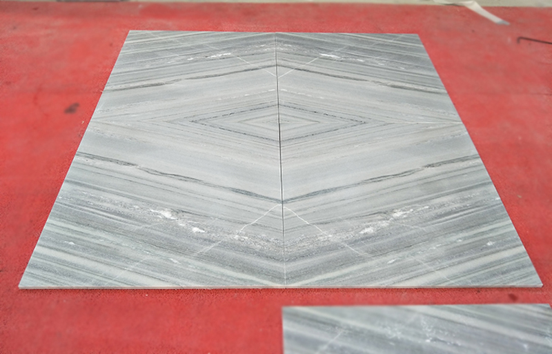 Indian Palissandro Blue Marble Tiles for Walling and Flooring