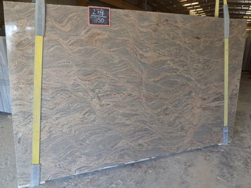 Indian Polished Granite Slabs Juparana Granite Slabs