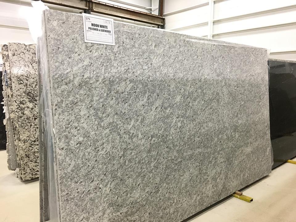 Indian Polished White Granite Slabs Moon White Slabs