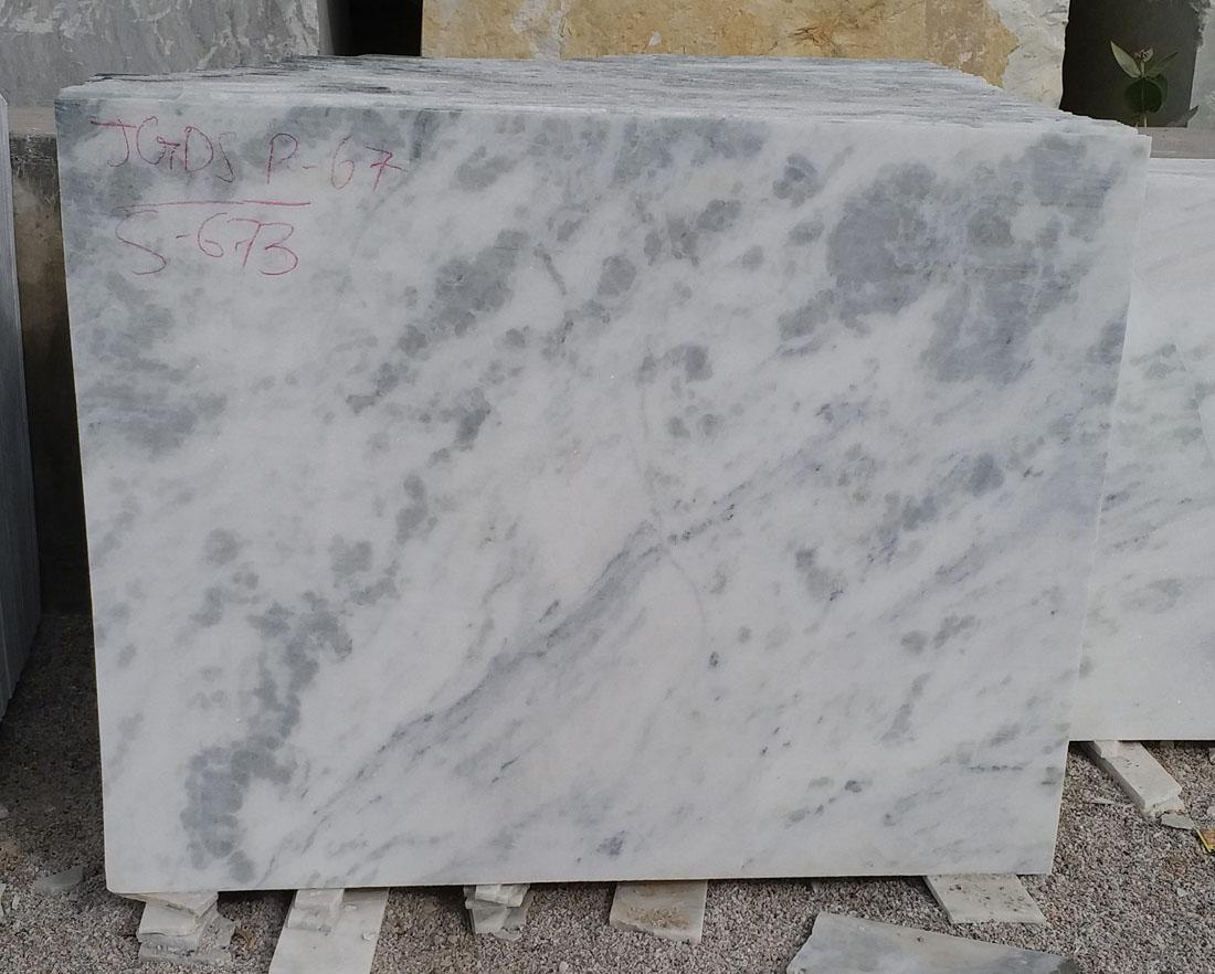 Indian Rajnagar White Marble Slabs