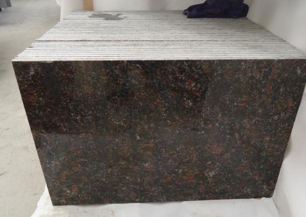 Indian Tan Brown Polished Coffee Brown Granite Tiles