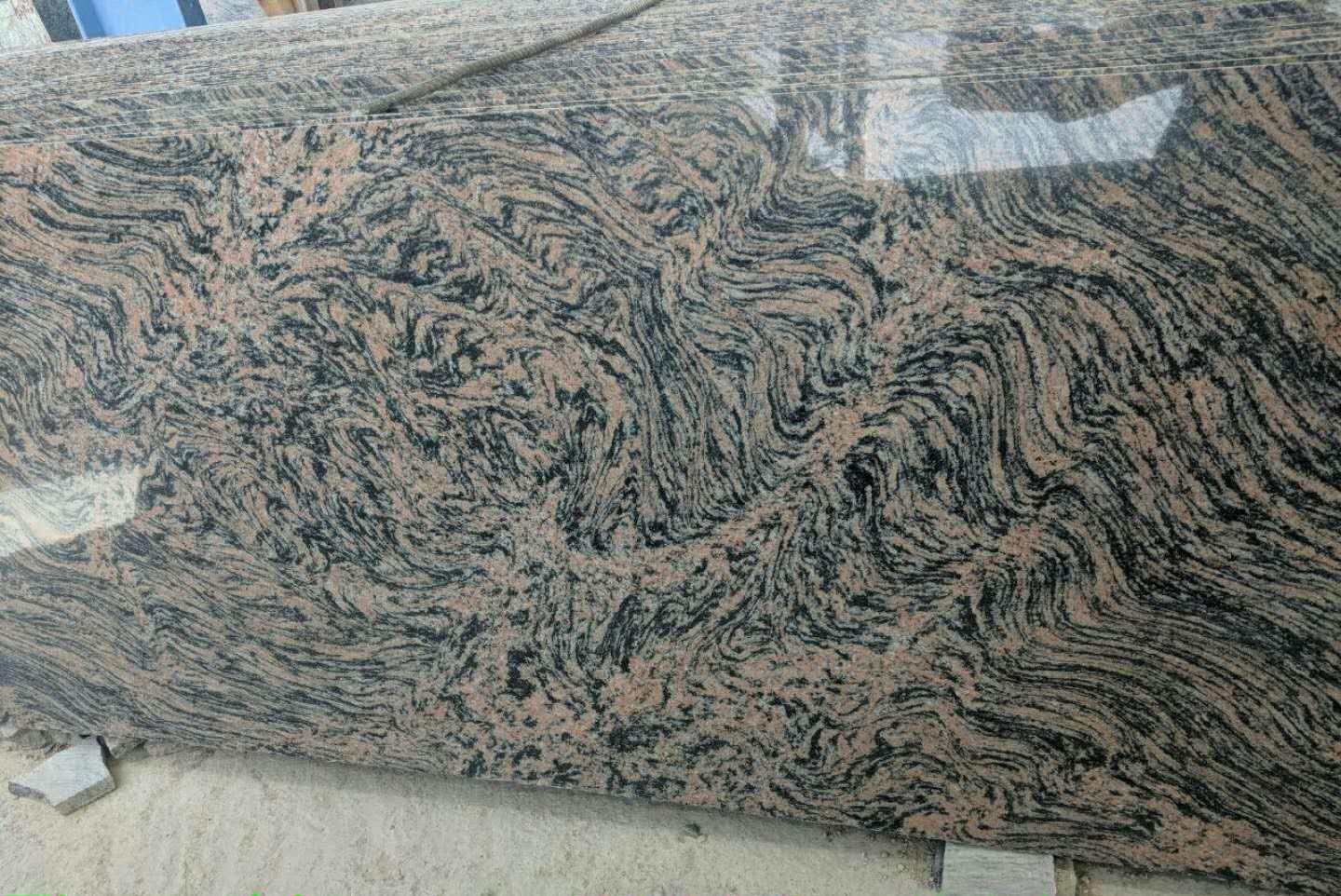 Indian Tiger Skin Granite Slabs