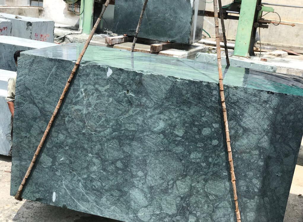 Indian Verde Guatema Green Marble Blocks