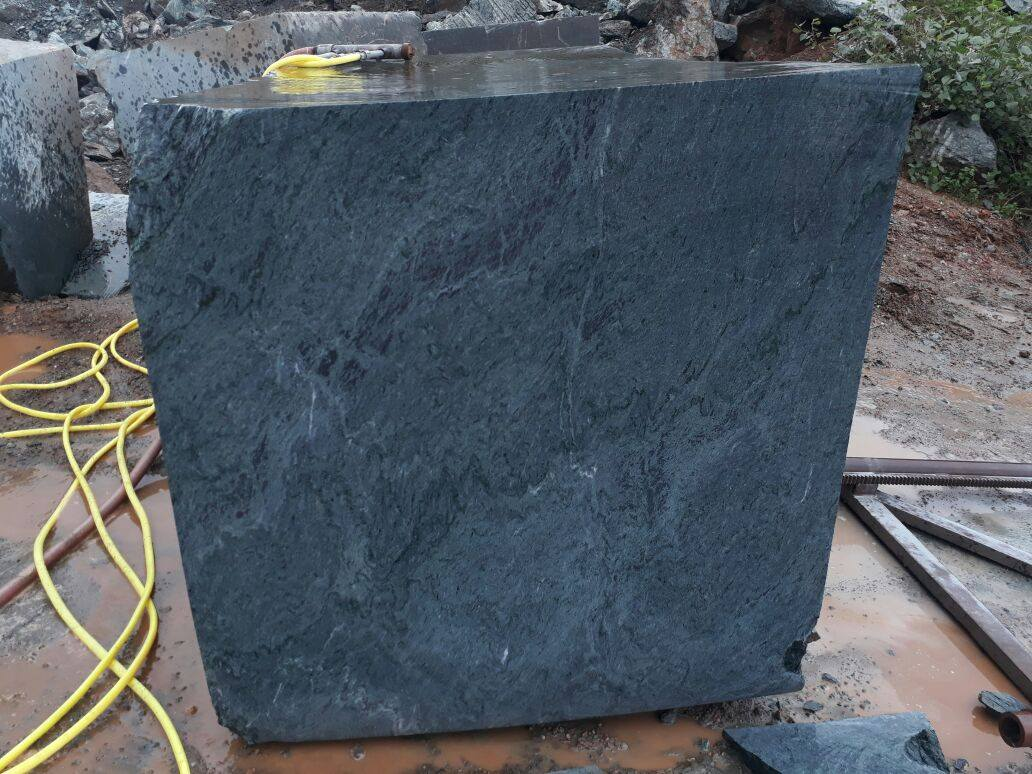 Indian Verde Montana Marble Blocks