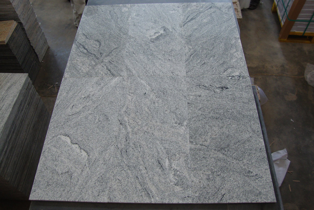 Indian Viscon White Granite Tiles for Flooring and Walling