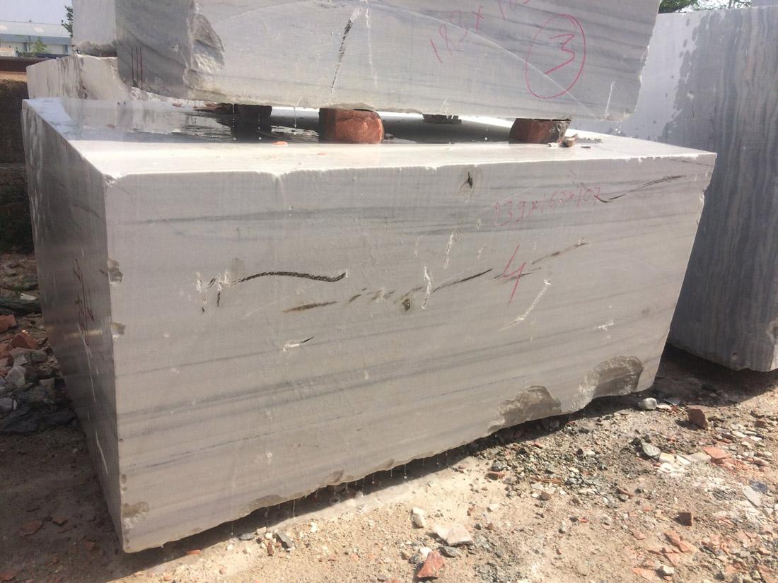 Indian White Marble Blocks Raymond White Blocks
