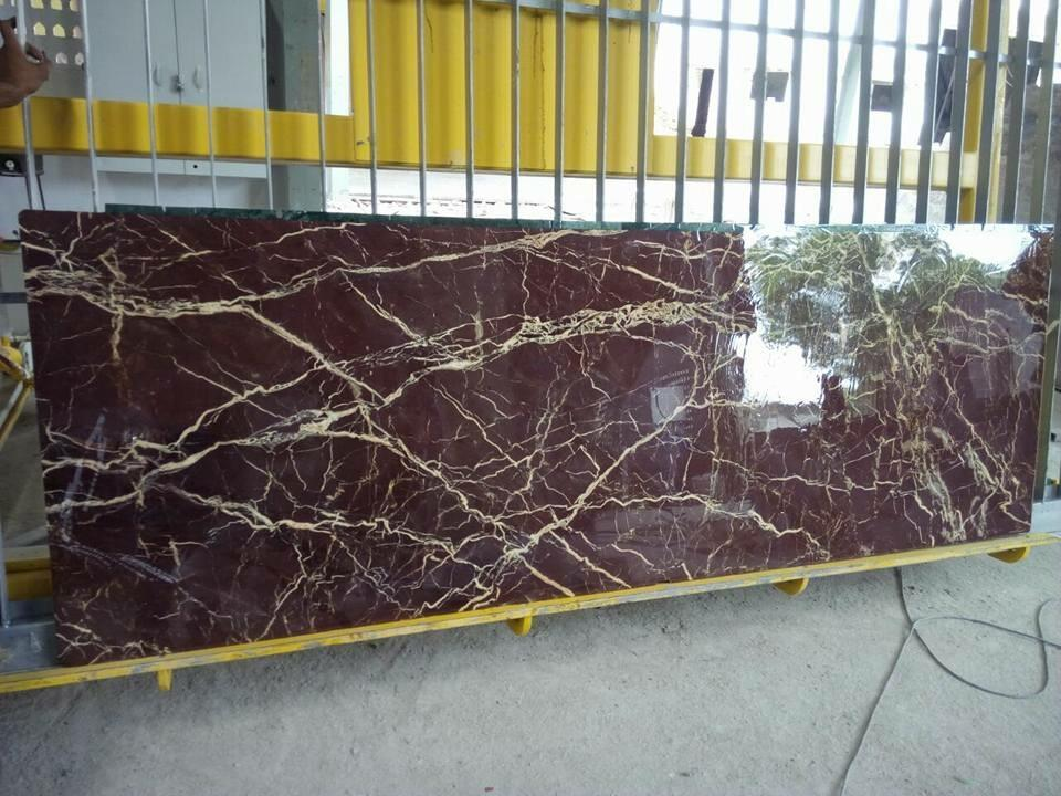 Indo Levanto Polished Red Marble Slabs