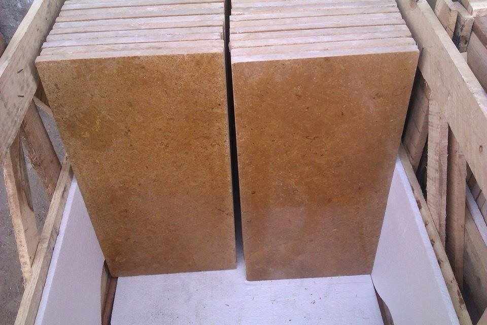 Indus Gold Marble Tiles Yellow Marble Tiles for Flooring and Walling