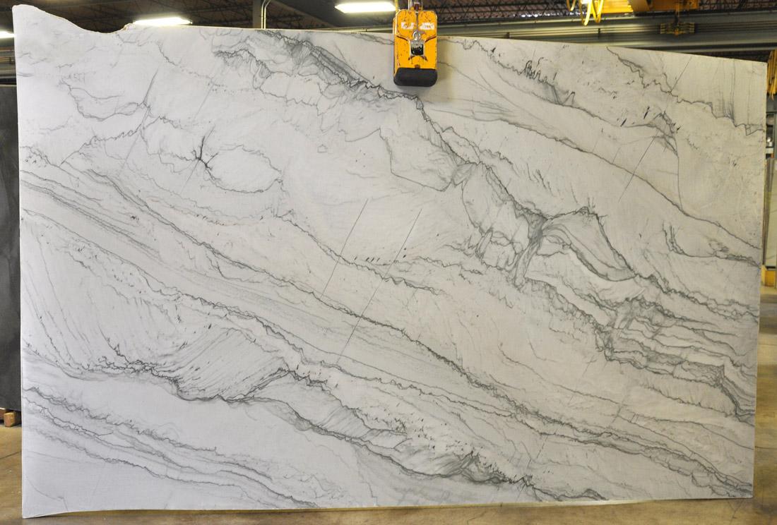 Infinity 3cm Polished White Quartzite Stone Slabs for Countertops