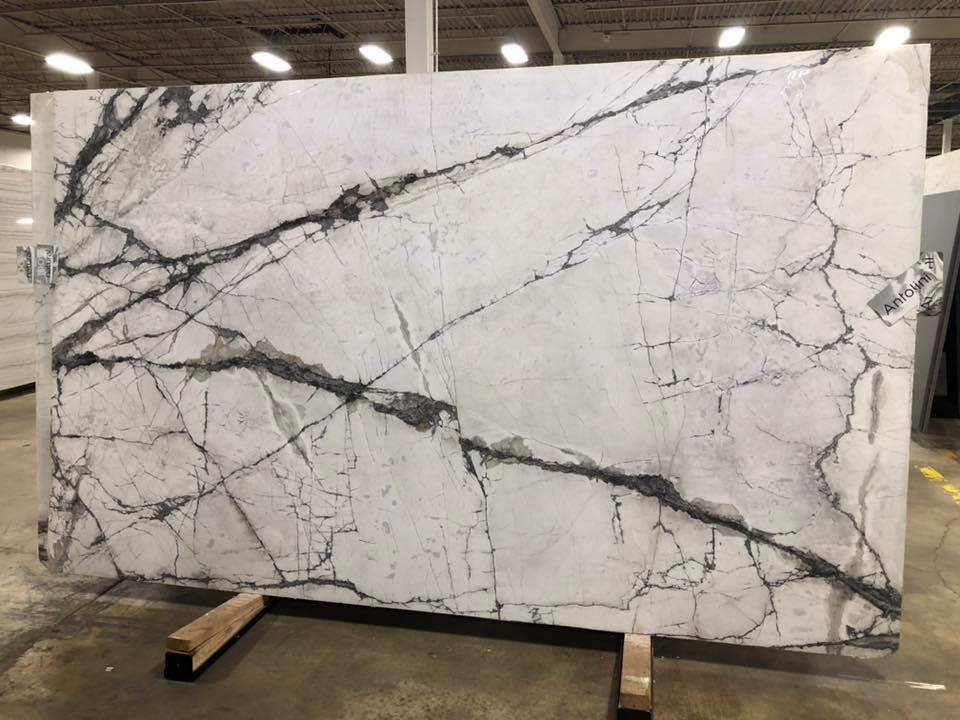 Invisible Light Marble Slabs White Marble Slabs