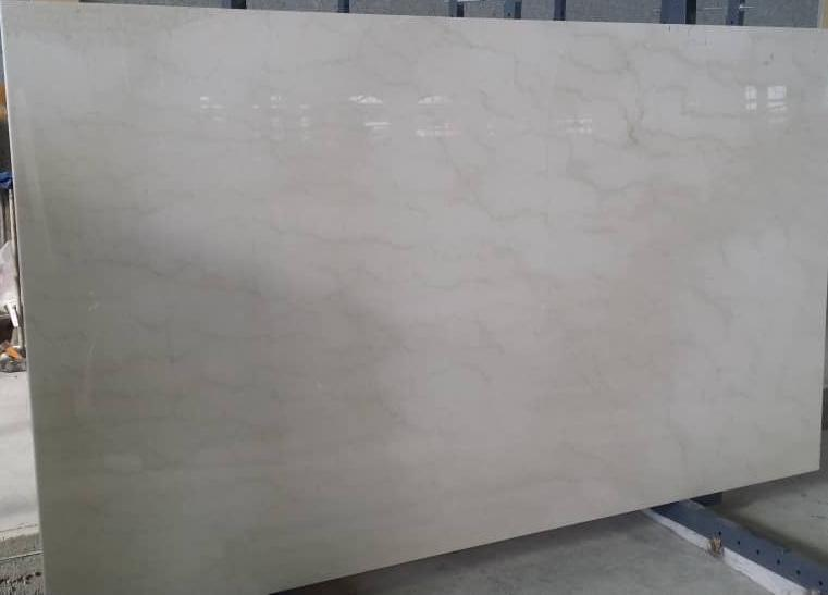 Iran Polished White Marble Slabs