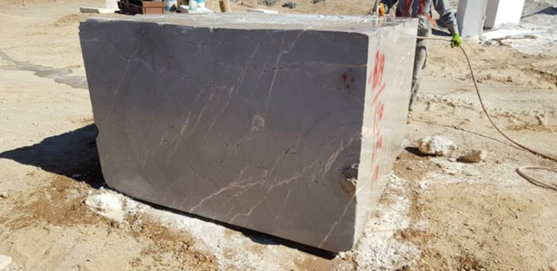 Iranian Grey Blocks New Gray Marble Blocks