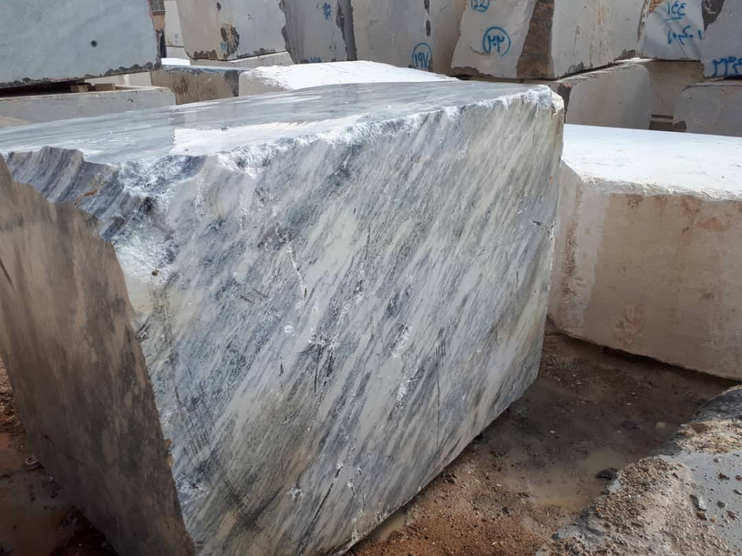 Iranian Ice Flower Marble Blocks