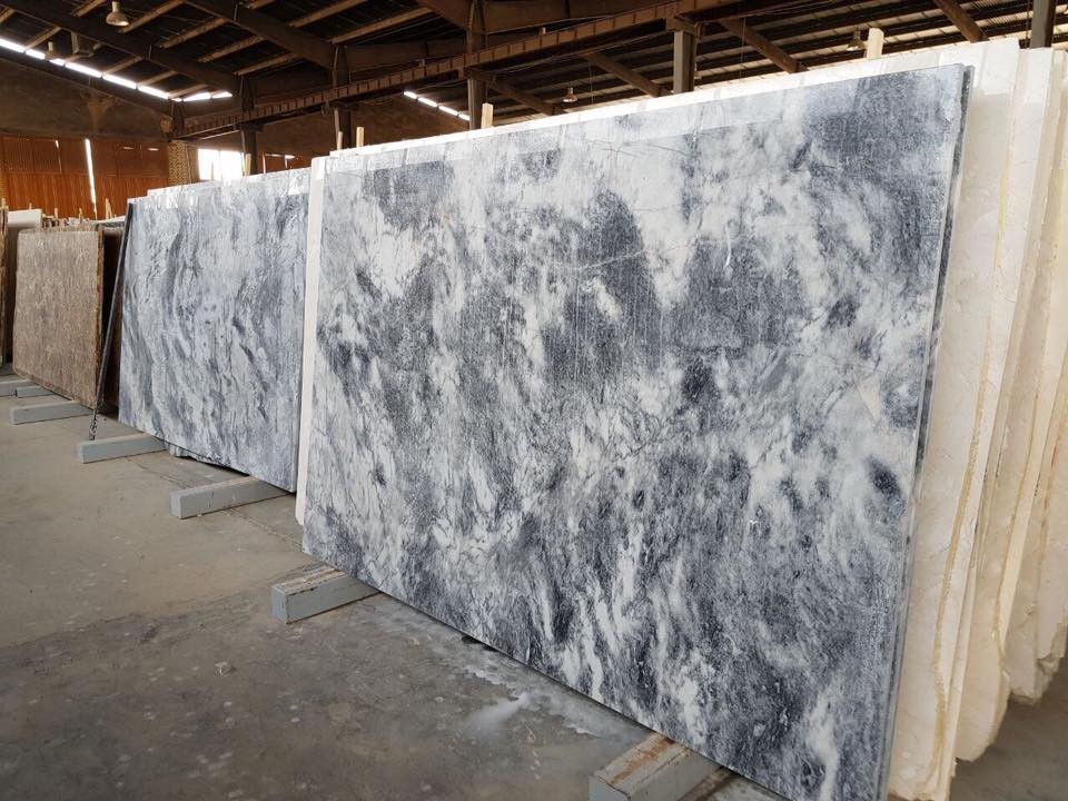 Iranian Ice Flower Marble Polished Slabs