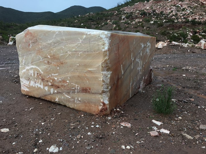 Iranian Onyx Blocks Brown Natural Onyx Stone Blocks