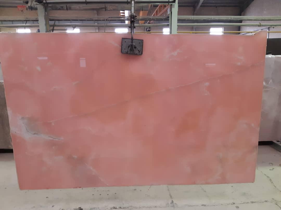 Iranian Pink Onyx Slabs Polished Onyx Stone Slabs