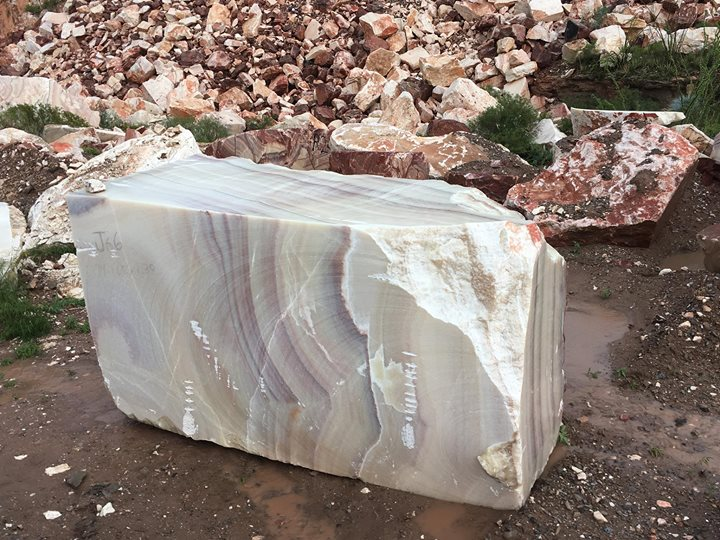 Iranian White Onyx Blocks