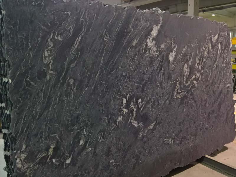 Iron Black Slabs Brazilian Black Granite Slabs