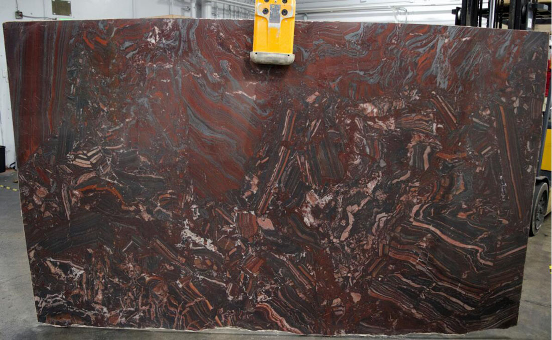 Iron Red Granite Polished Granite Slabs