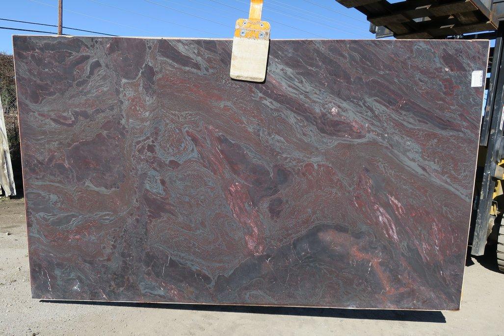 Iron Red Quartzite Red Quartzite Slabs from Brazil