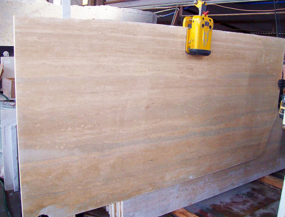 Italian Beige Travertine Stone Slabs with Competitive Price