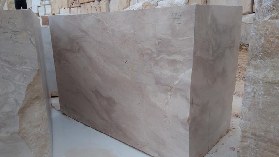 Italian Breccia Daino Blocks Natural Marble Blocks