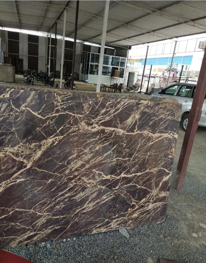 Italian Brown Marble Slab