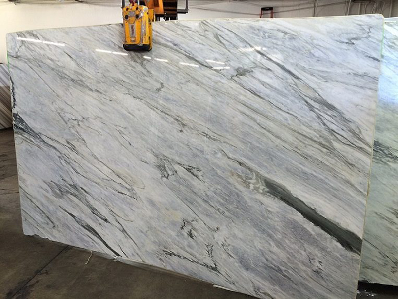 Italian Calacatta Bluette Polished Marble Slabs with Top Quality