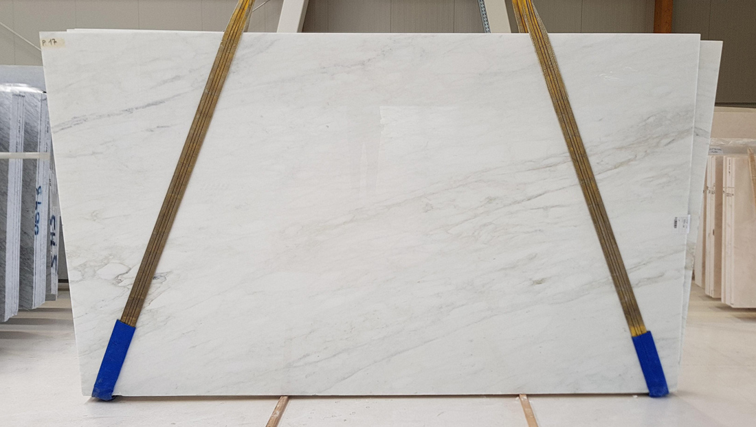 Italian Calacatta Caldia White Slabs Polished Marble Slabs