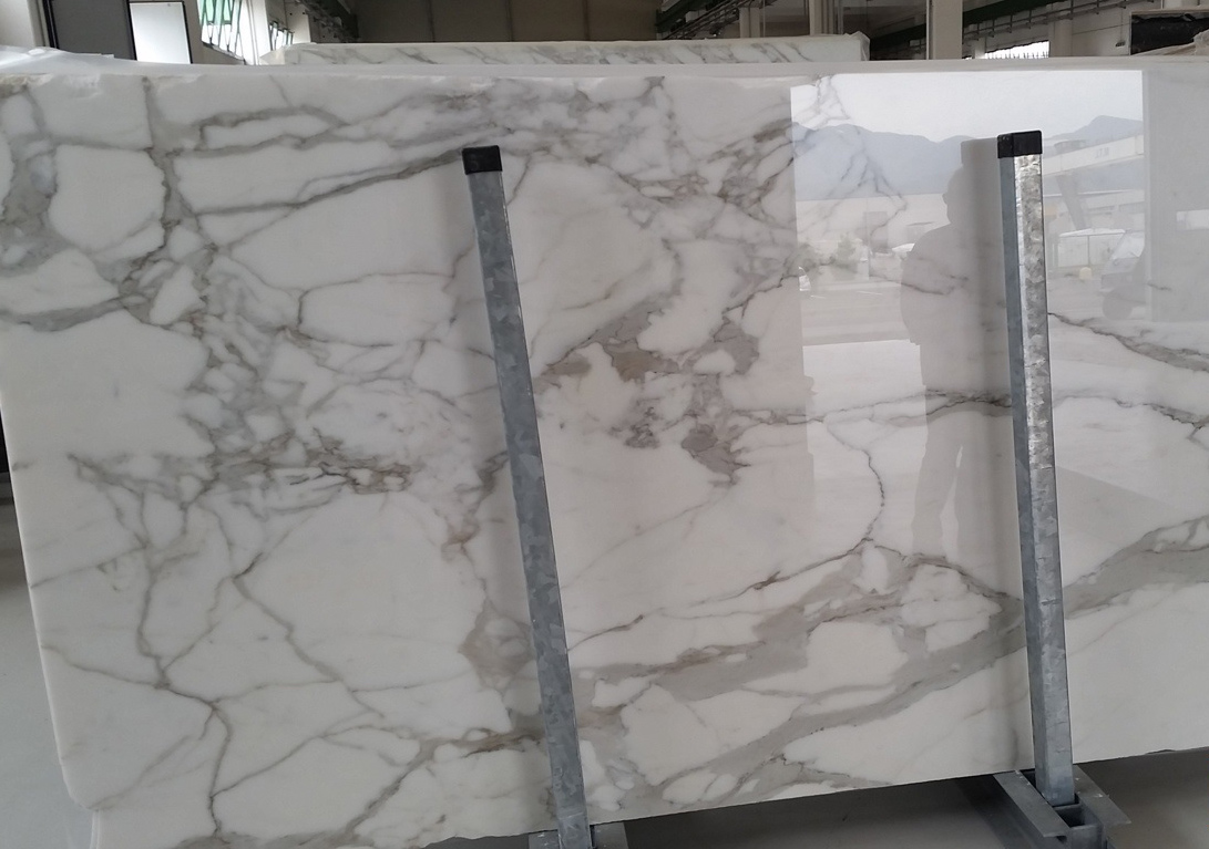 Italian Calacatta Gold Marble Slabs with Top Quality