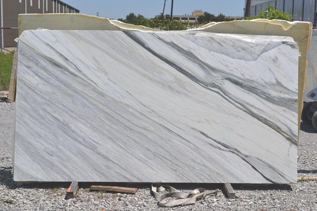 Italian Calacatta Manhattan White Marble Slabs