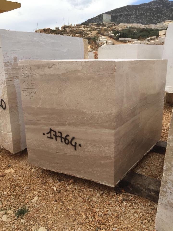 Italian Daino Block Beige Marble Blocks