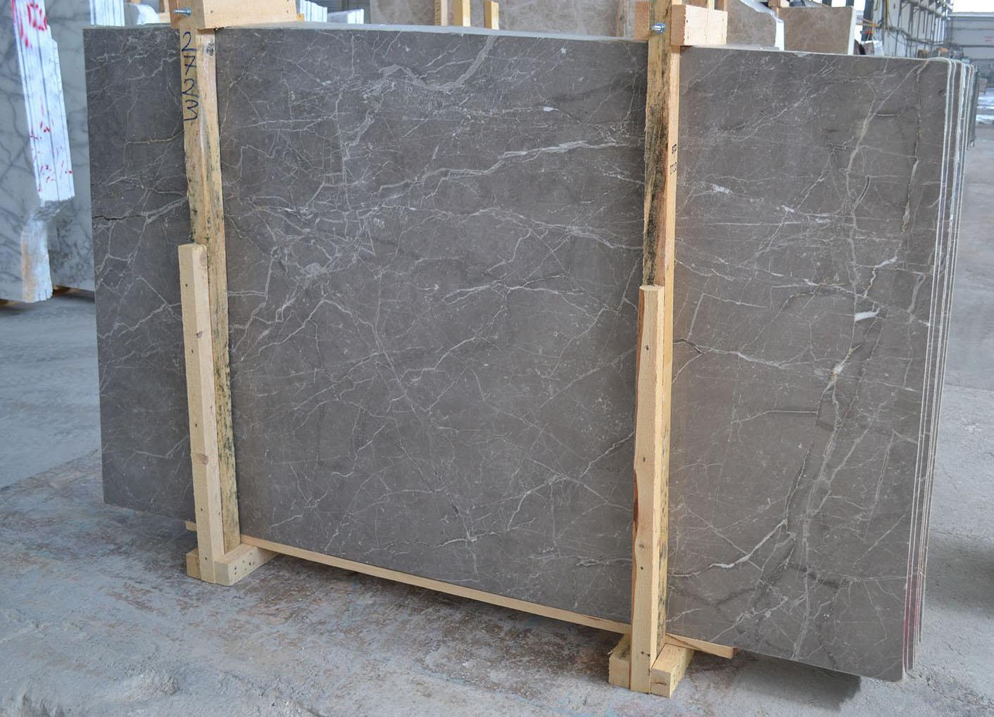 Italian Fior Di Bosco Slabs Grey Marble Stone Slabs
