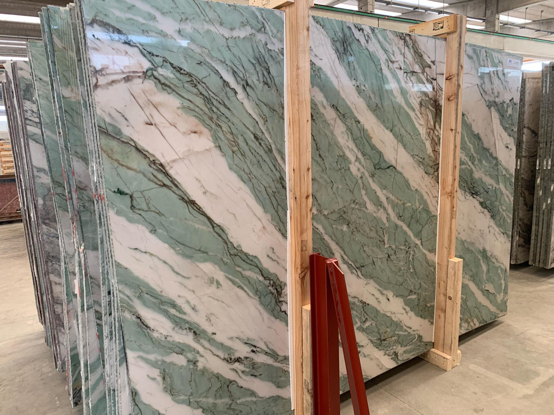 Italian Green Quartzite Slabs Tiffany Quartzite Slabs