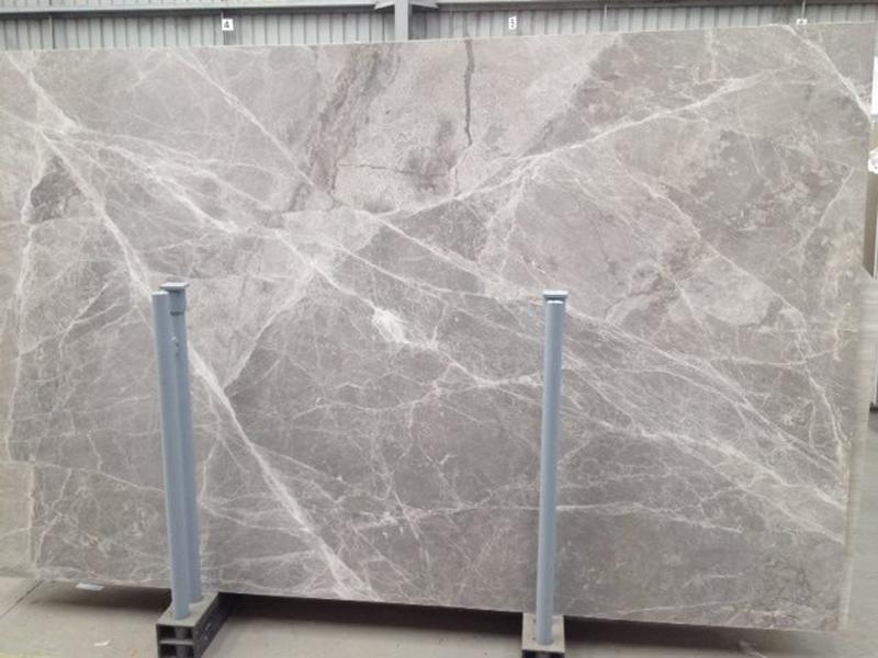 Italian Grigio Imperiale Marble Slabs Grey Honed Marble Slabs