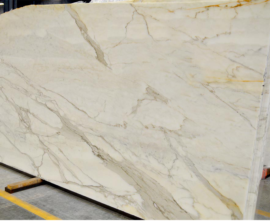 Italian Hot Selling White Marble Calacatta Oro Slabs