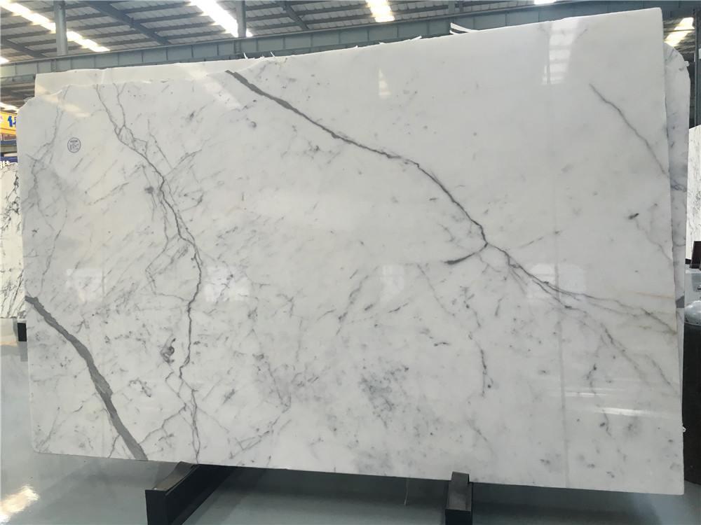 Italian Marble Slabs Polished Statuario Marble Slabs