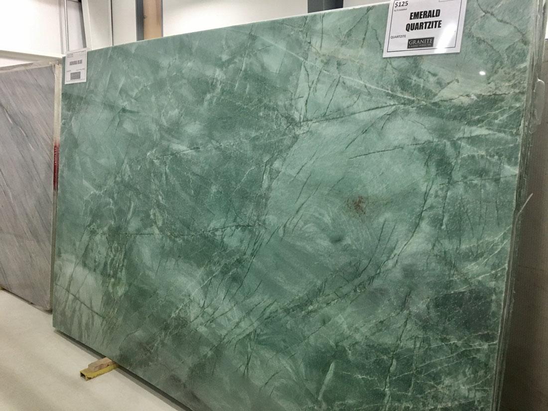 Italian Quartzite Slabs Green Emerald Quartzite Slabs