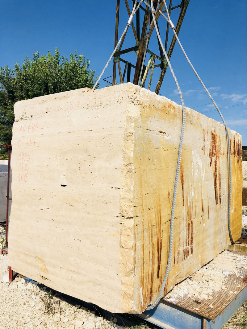Italian Roman Classic Travertine Blocks