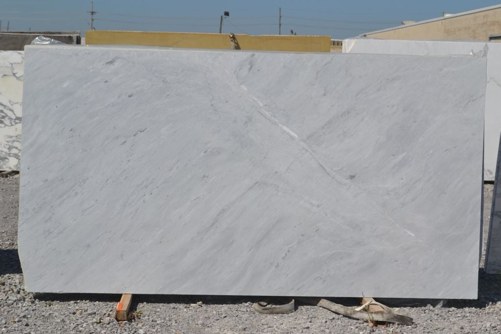 Italian Superwhite Honed White Marble Slabs